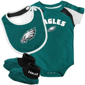 watch 0c86e 2318b Baby Philadelphia Eagle, 76er, Phillie Onesie, Tee 6m, 12m ...
