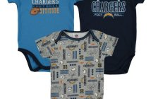 san diego chargers onesie, san diego chargers creeper, chargers 6m 12m 18m 24m onesies, san diego chargers infant apparel, san diego chargers baby clothes