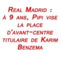 FootballFrance.fr - Le Real Madrid signe Pipi