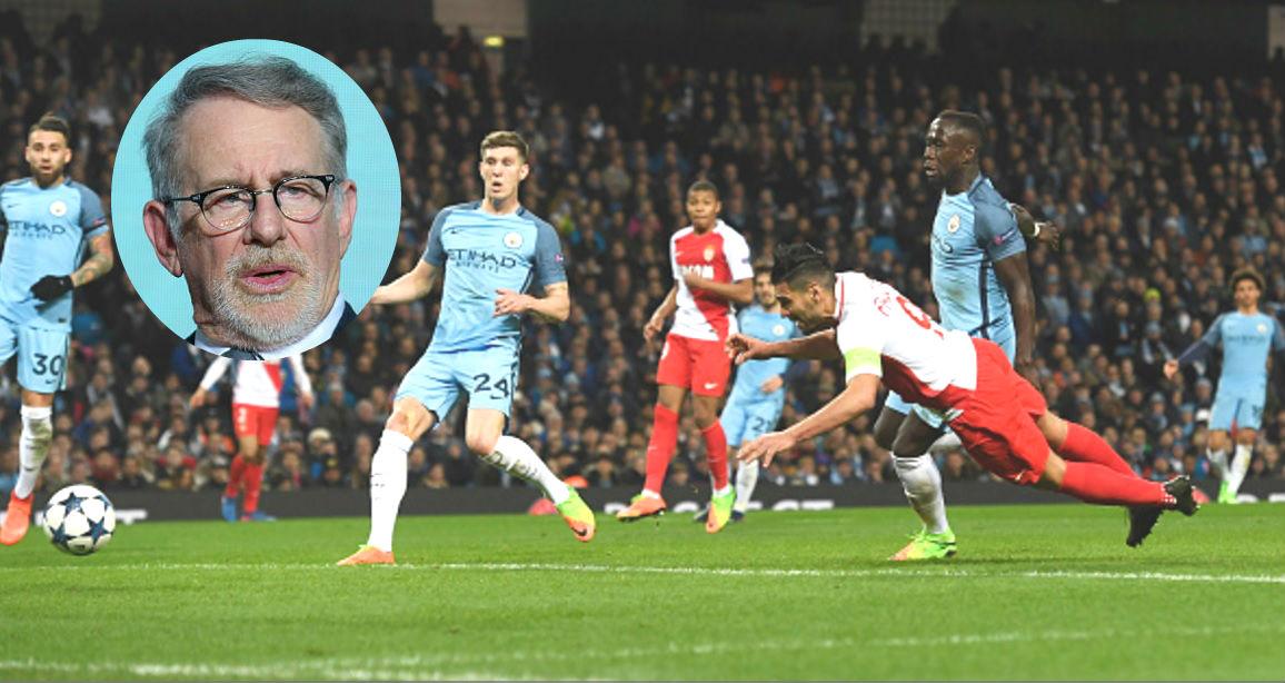 Steven Spielberg rachète les droits de Manchester City-Monaco pour en faire un film