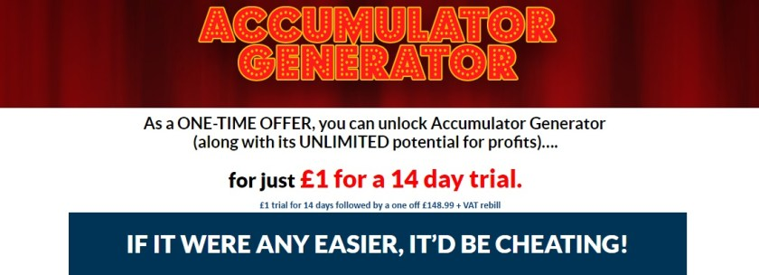 Accumulator Generator Trial