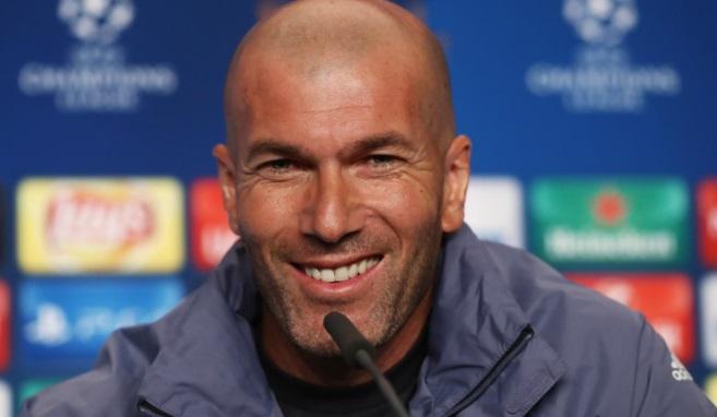 Zinedine Zidane Champions League 2017