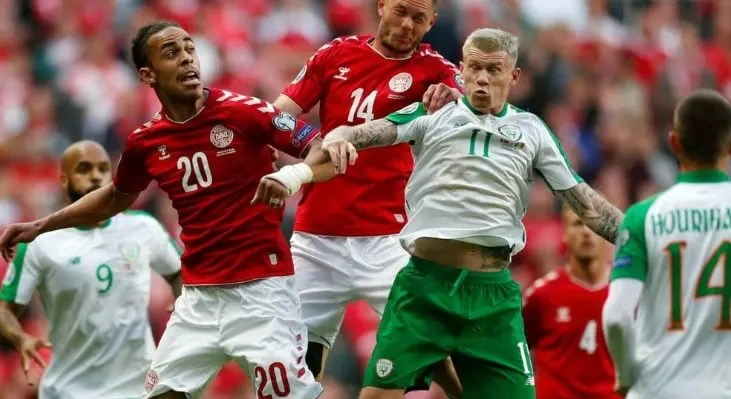 Denmark V Republic of Ireland