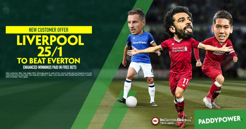 Paddy Power New Customers Offer Liverpool