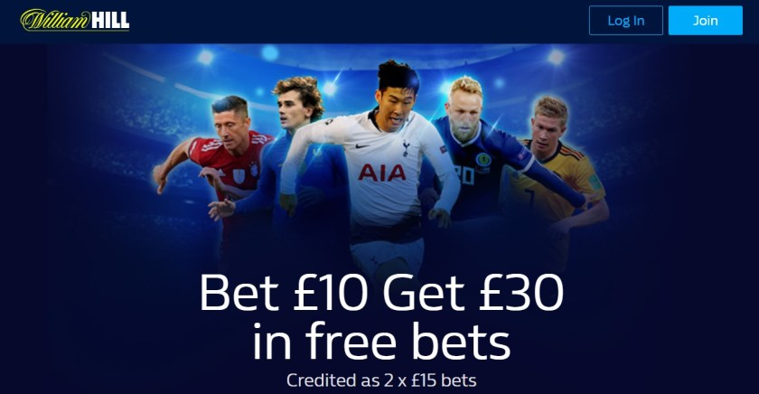 William Hill New Customers Offer