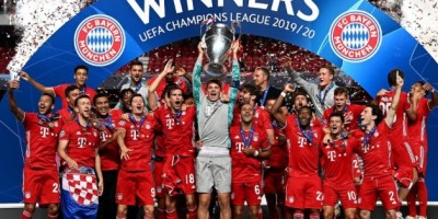 2020 Champions League Winners Bayern Munich