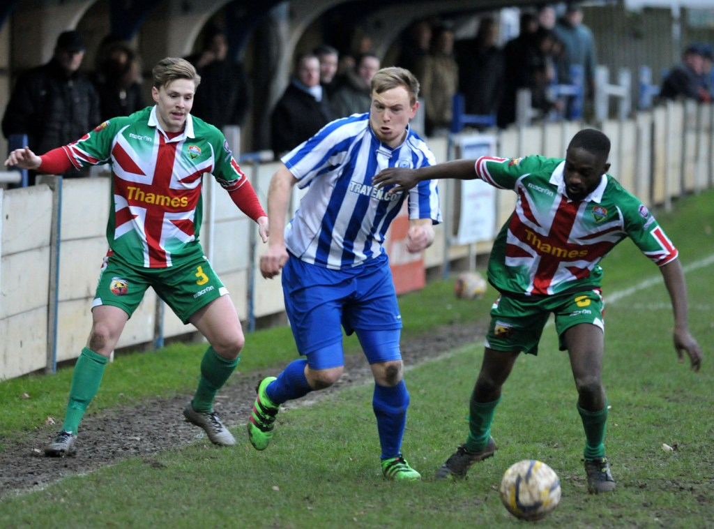 Chertsey Town v Windsor FC. Photo: getsurrey.co.uk