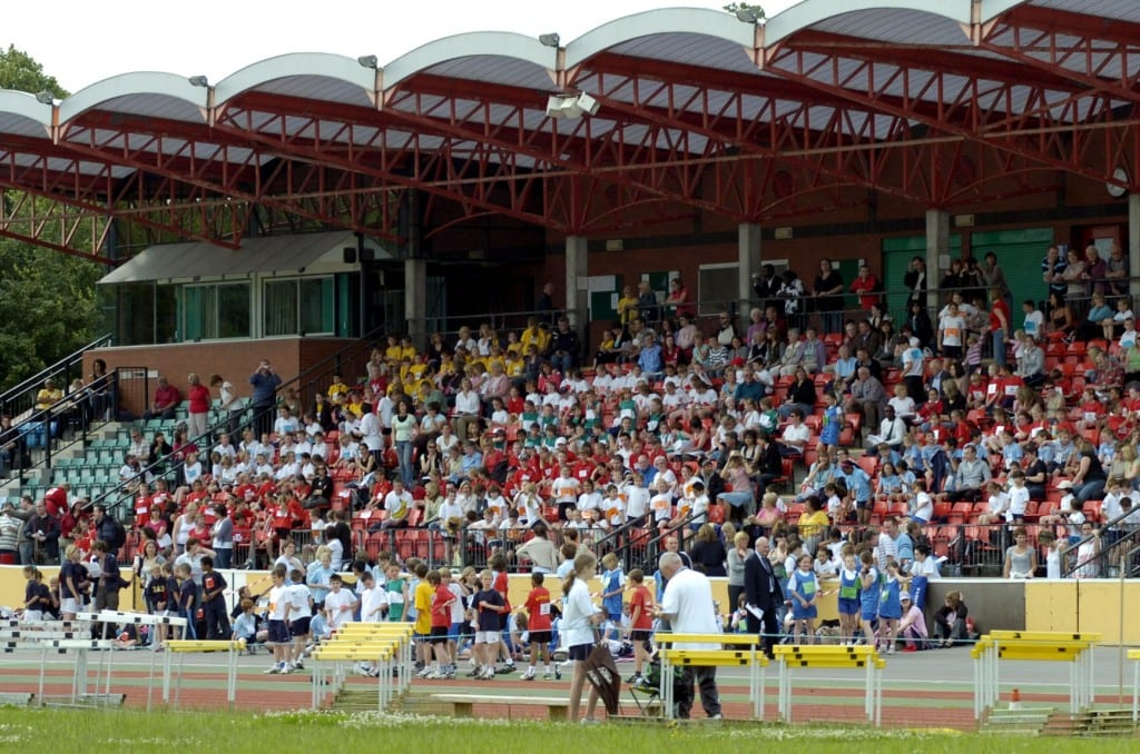 The main stand at Palmer Park Stadium in East Reading. Photo: getreading.co.uk