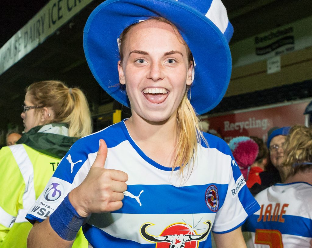 Reading FC Woman defender Molly Bartrip. Photo: Neil Graham.