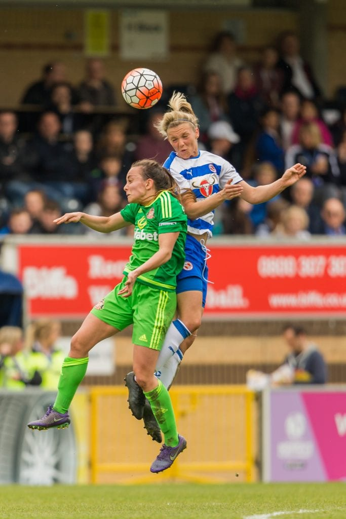 Reading FC Women vs Sunderland Ladies. Photo: Neil Graham.