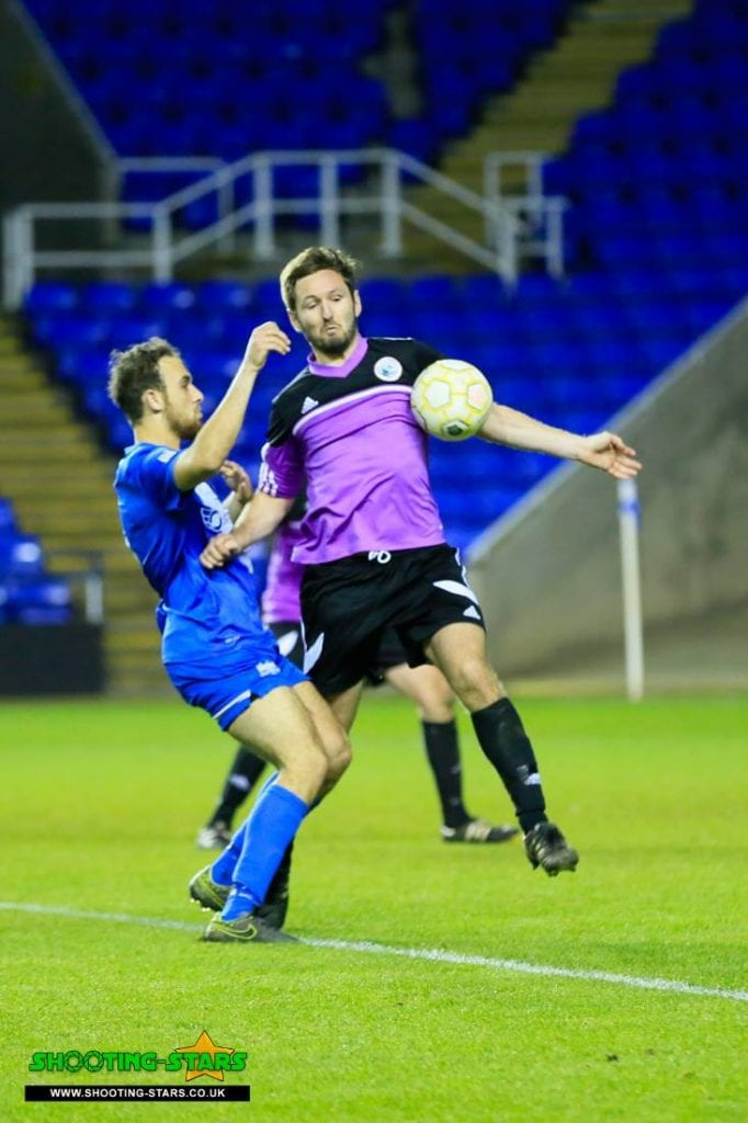 Not a handball in the Reading Senior Cup final
