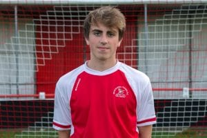 Bracknell Town forward Connor Thorndike. Photo: Connor Sharod-Southam.