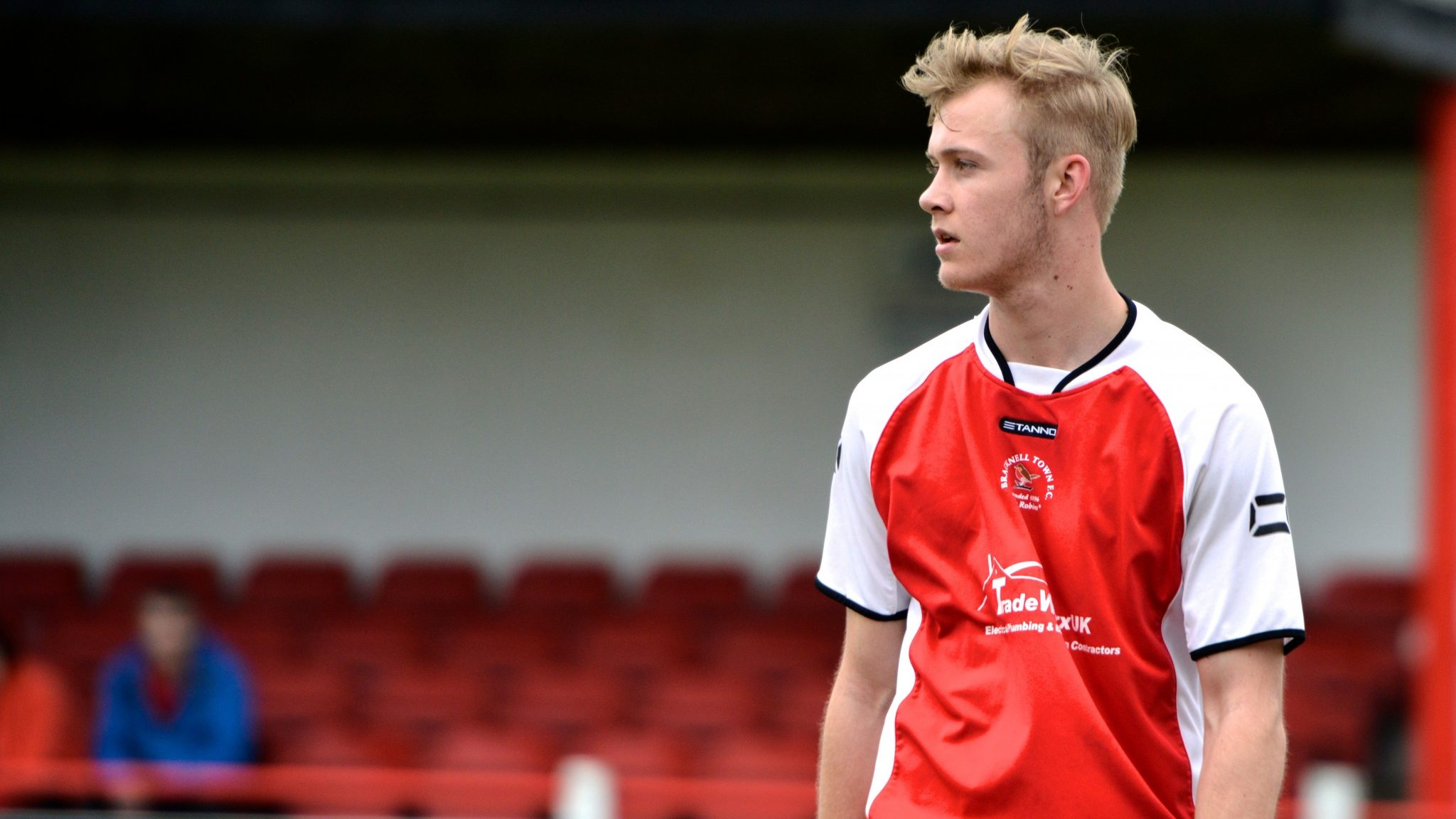 Ex-Bracknell Town star Sam Barratt is on trial at a Premier League club