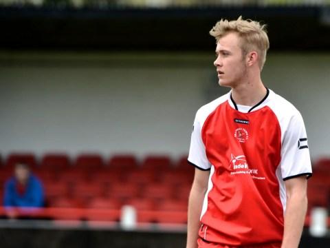 Ex-Bracknell Town star Sam Barratt is on trial at a Premier League club
