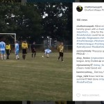 Watch Wokingham & Emmbrook score the opener and Finchampstead's missed penalty