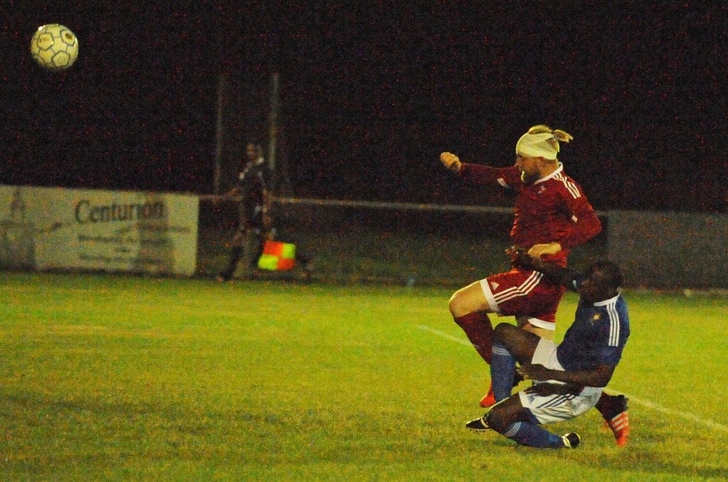 Bracknell Town FC 0 Highmoor-IBIS 2: Full report from Tuesday nights encounter