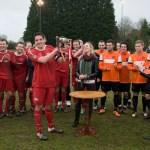 Binfield FC and Wokingham & Emmbrook contest the Martin Joyce Memorial Trophy