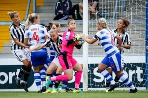 Reading FC Women goalkeeper Mary Earps. Photo: Neil Graham.