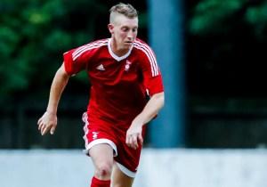 TJ Bohane for Bracknell Town FC. Photo: Neil Graham.