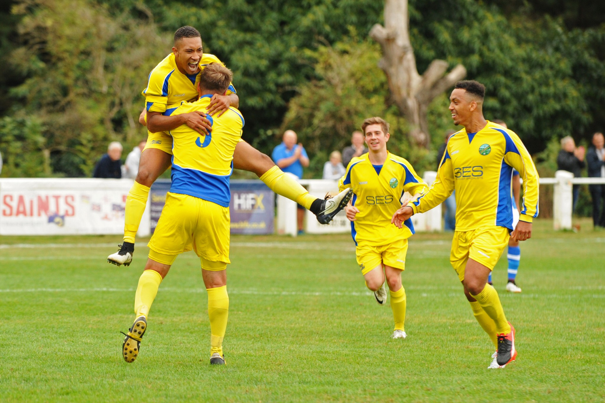 All the images from Ascot United's Emirates FA Cup tie with Tonbridge Angels