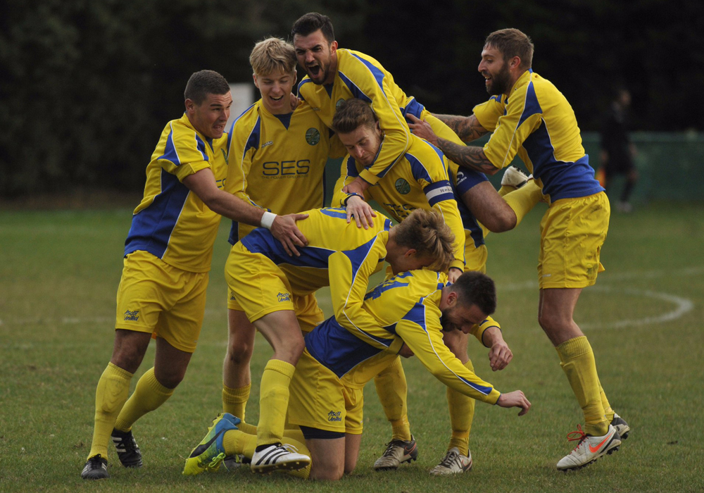Ascot United FC delight at injury time Buildbase FA Vase win