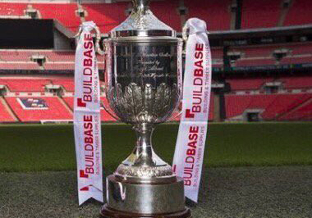 Here's the draw for the 2017/18 Buildbase FA Vase First and Second Qualifying Rounds