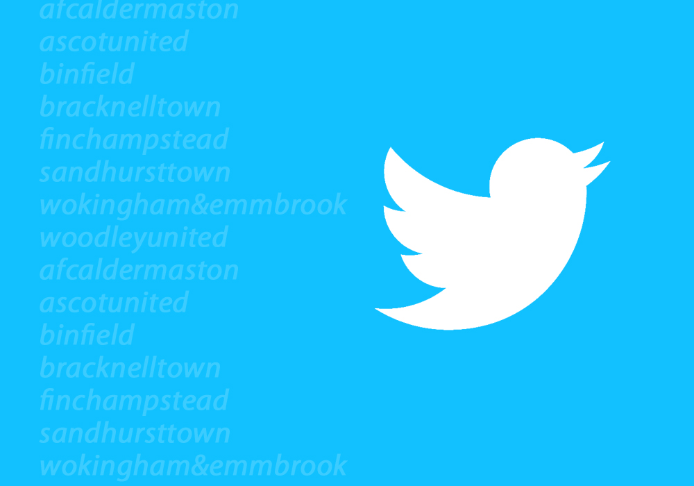 Bracknell Town FC twitter and other social media accounts you must follow