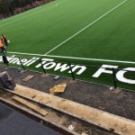Larges Lane latest see's fresh image from Bracknell Town FC redevelopment