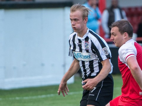 Who is Sam Barratt the former Woodley Town and Bracknell Town winger