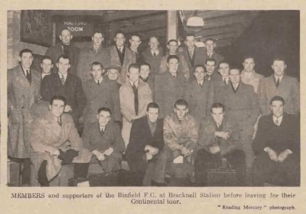 When Binfield FC went on a European jaunt