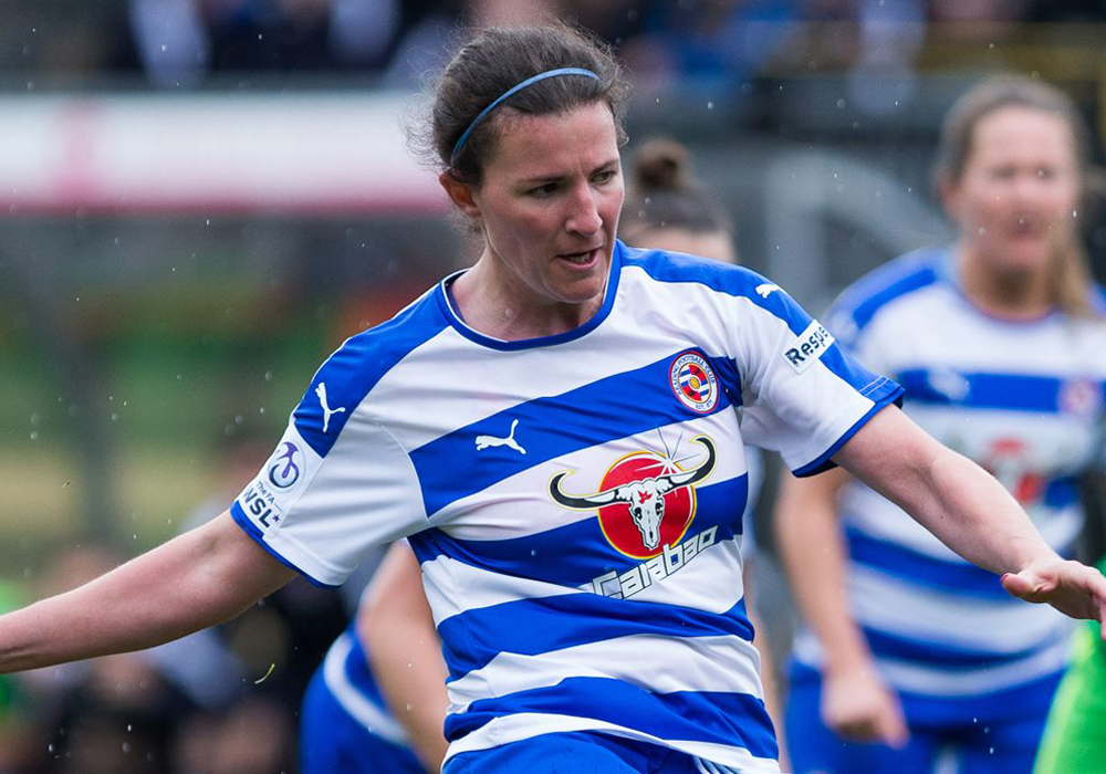 Helen Ward announces future at Reading FC Women