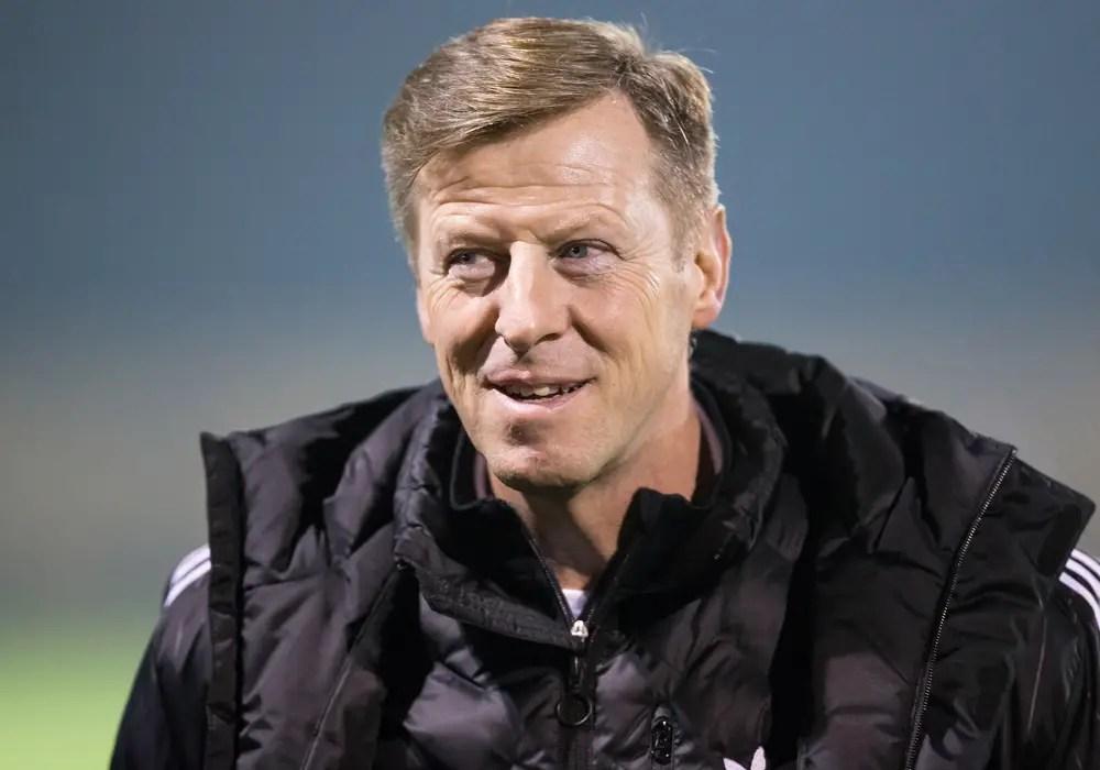 Bracknell Town FC manager Mark Tallentire. Photo: Richard Claypole.