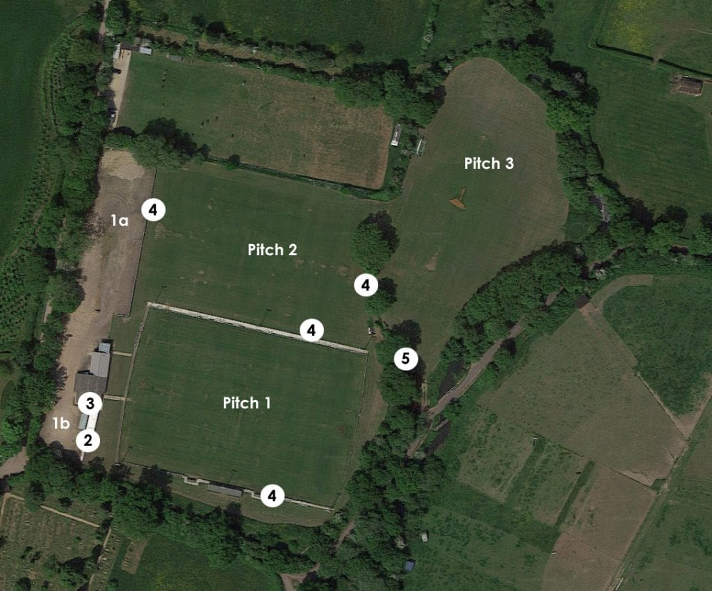 The Binfield FC masterplan.
