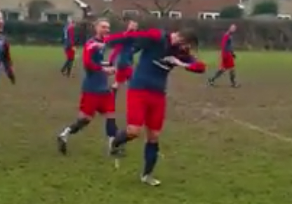 Watch a 'Worldy' from Jai McDonald in the Bracknell Sunday League