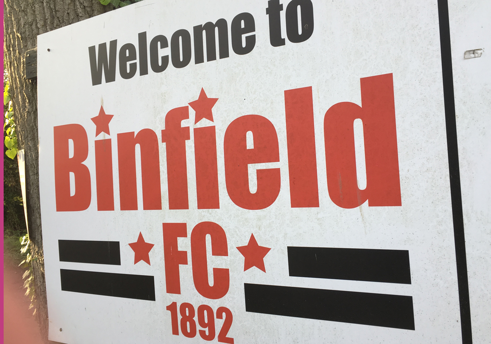 Binfield launch new Ladies Football Club for 2017/18 season