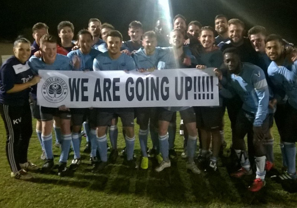 Woodley United promoted to the Hellenic Premier League