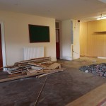 Clubhouse refurbishment underway at Binfield