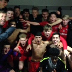 Binfield FC youth team win Allied Counties Youth League title