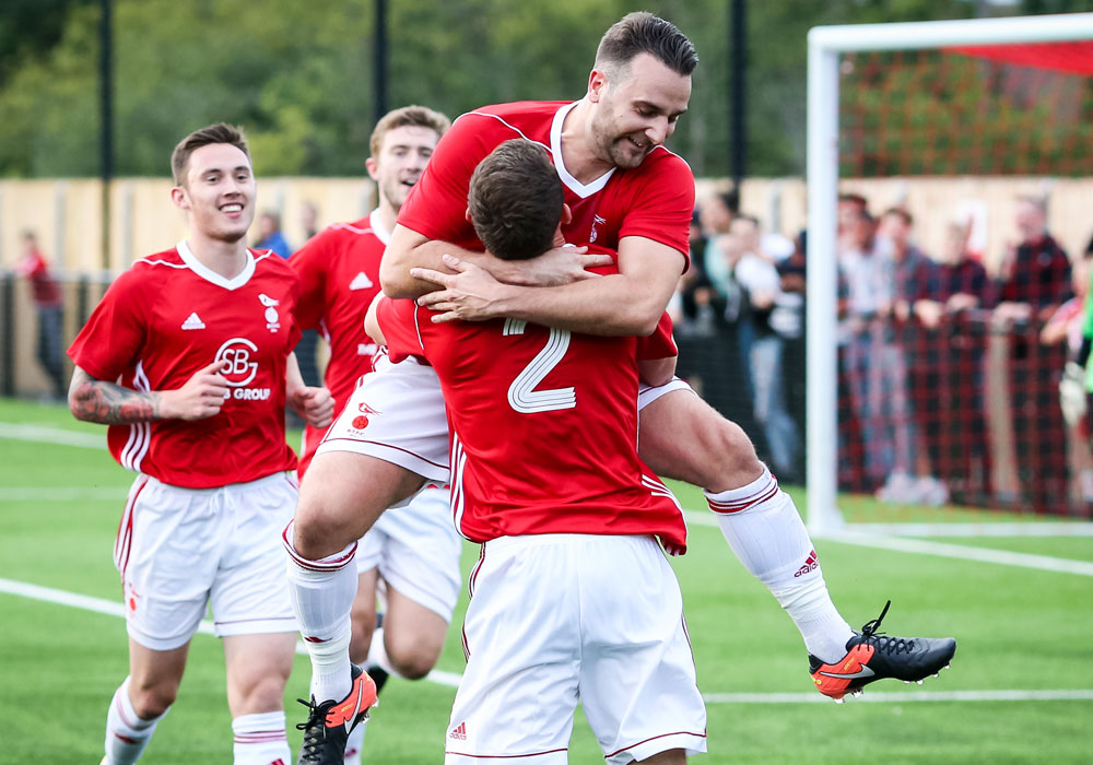 Watch Adam Cornell's 18 yard strike for Bracknell Town
