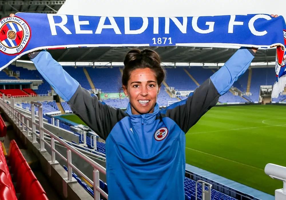 Watch new Reading midfielder Fara Williams scoring straight from kick off
