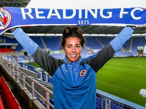 Watch new Reading midfielder Fara Williams scoring straight from kick off