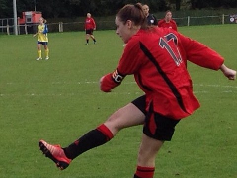 Woodley United in County Cup semi finals and four goals each for Shellie Irvine and Lucy Holzman-Clarke