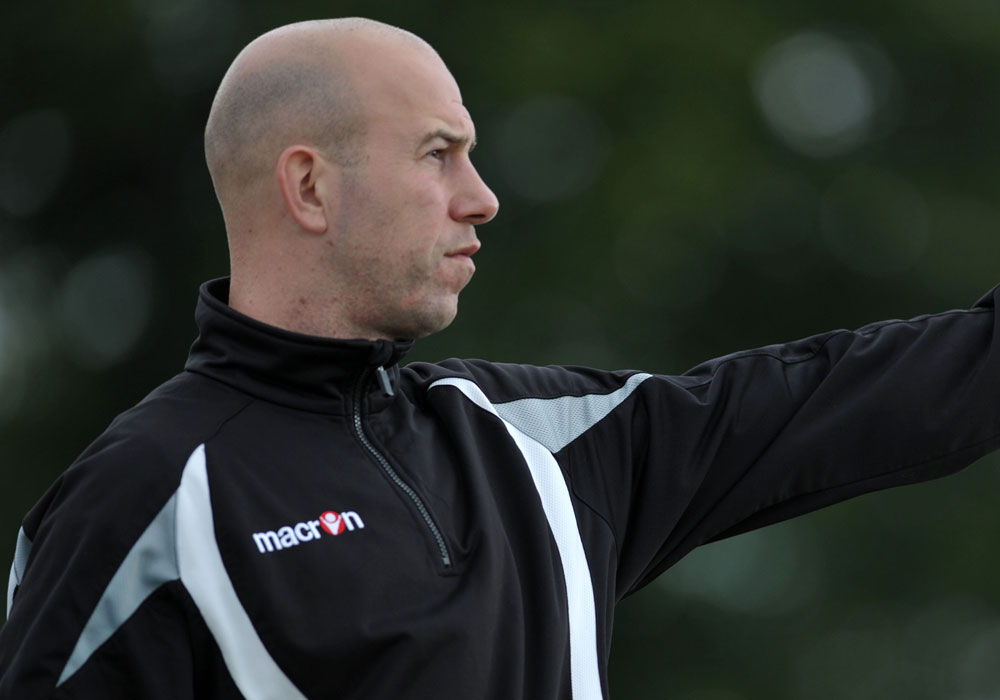 Slough Town manager Jon Underwood. Photo: Get Surrey.