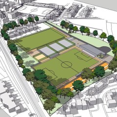 Bracknell Town FC unveil ambitious plans for Larges Lane with Ranelagh School