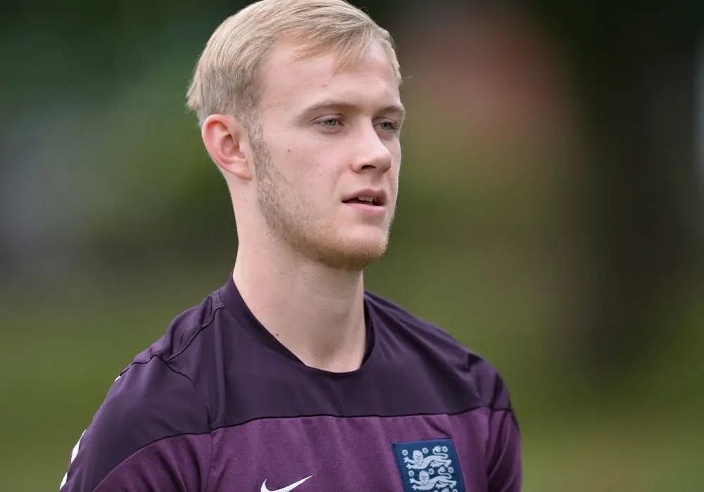 Sam Barratt training with England C. Photo: David Loveday.