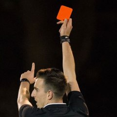 What happens if a referee abandons a match?