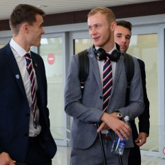 Sam Barratt out in Slovakia with England C squad ahead of ICT Final