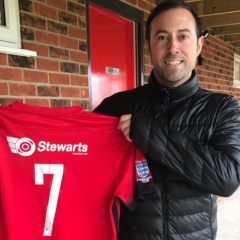 Binfield FC Reserves assistant Nick White has New Year surprise for boss