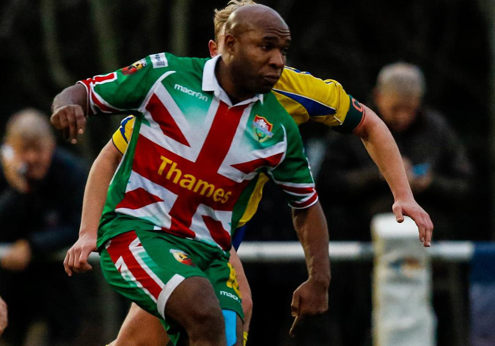 If you thought Barry Hayles was the oldest player in the Hellenic League..