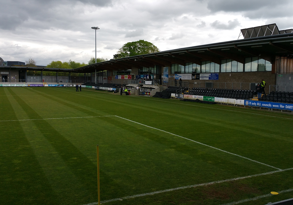 Princes Park, Dartford FC. Photo: Tony Hardy.
